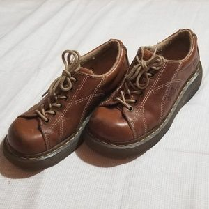 Dr martens womens shoes size 7 brown
